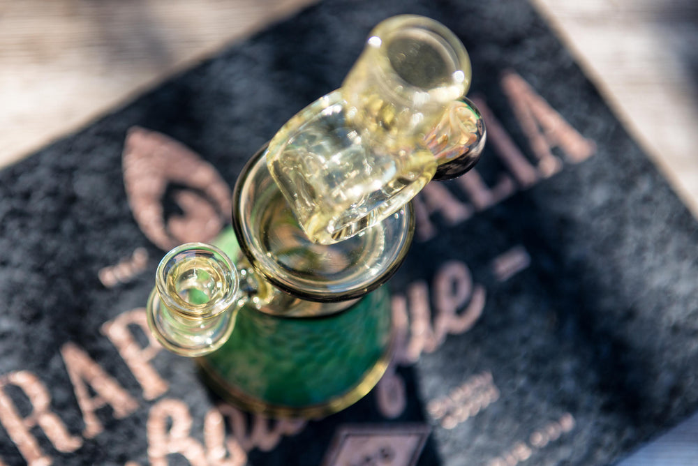 Shuhbuh Glass Experimental #32 Lil' Rocker Rigs - Headies