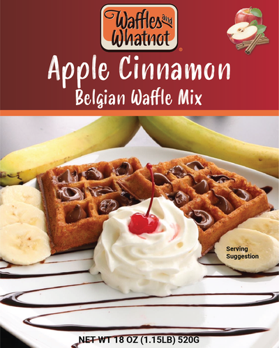 Apple Cinnamon (Best Waffle You've Ever Eaten)