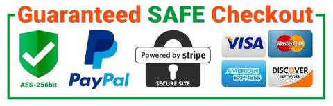 Guaranteed Safe Check out