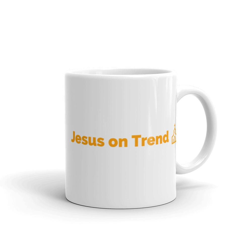 Jesus on Trend Mug made in the USA