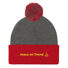 Pom Pom Knit Cap - Jesus on Trend