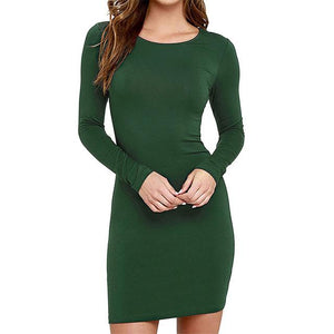 FREE Shipping - New 2017 Autumn Cute Casual Long Sleeve Short Dress