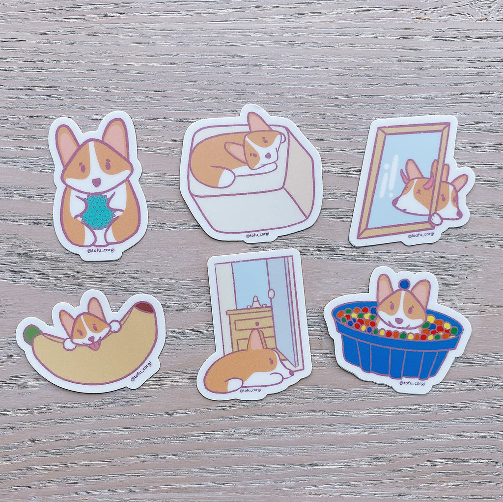 Just Tofu Things Sticker Set