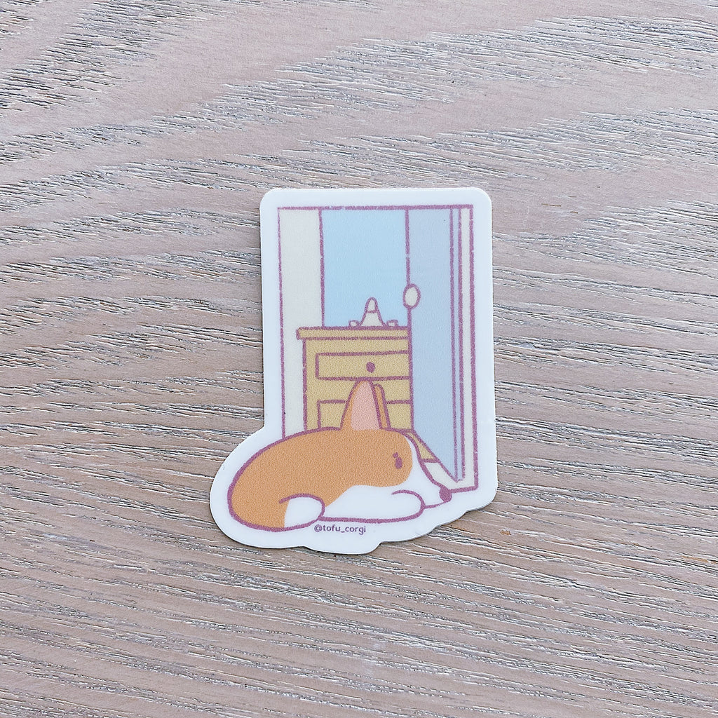 Just Tofu Things - Minor Inconvenience Tofu Sticker