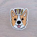 FTFO Tofu Sticker