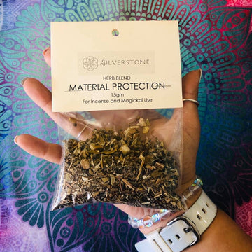 Magickal Herb Blend Material Protection