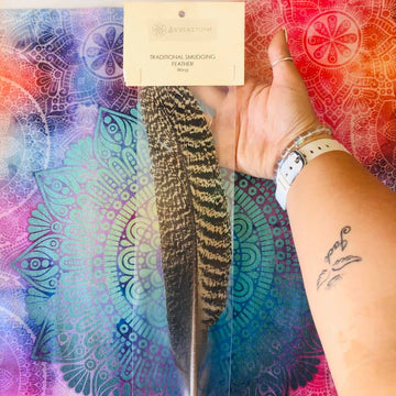 Traditional Smudging Feather