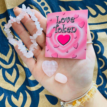 Rose Quartz Love Token Kit