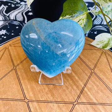 Trolleite Quartz Heart