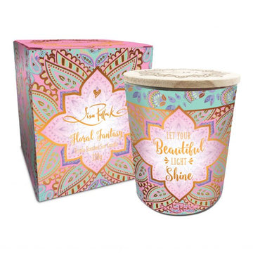 Floral Fantasy Triple Scented Soy Candle