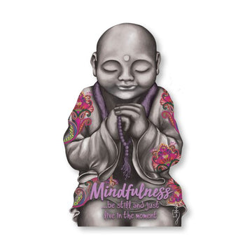 Plaque Mindfulness Monk