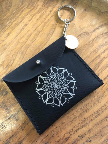PREORDER Mermaid Mandala Crystal Pouch