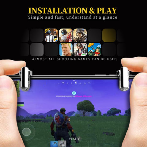 Joystick Trigger Fire Button For Mobile Phone Gamepad L1 R1