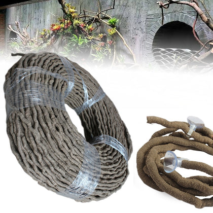 Reptiles Vivarium Flexible Terrarium Jungle Vines Climber Decor 100cm