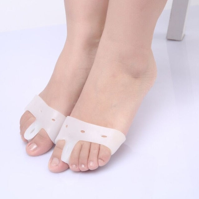Silicone Feet Care Socks Moisturizing Gel Heel Thin Socks With Hole Cracked Foot Skin Care Protectors