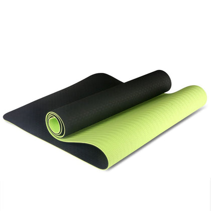 Two-Color Non-Slip Yoga Mat Sports Mat 183x61Cm