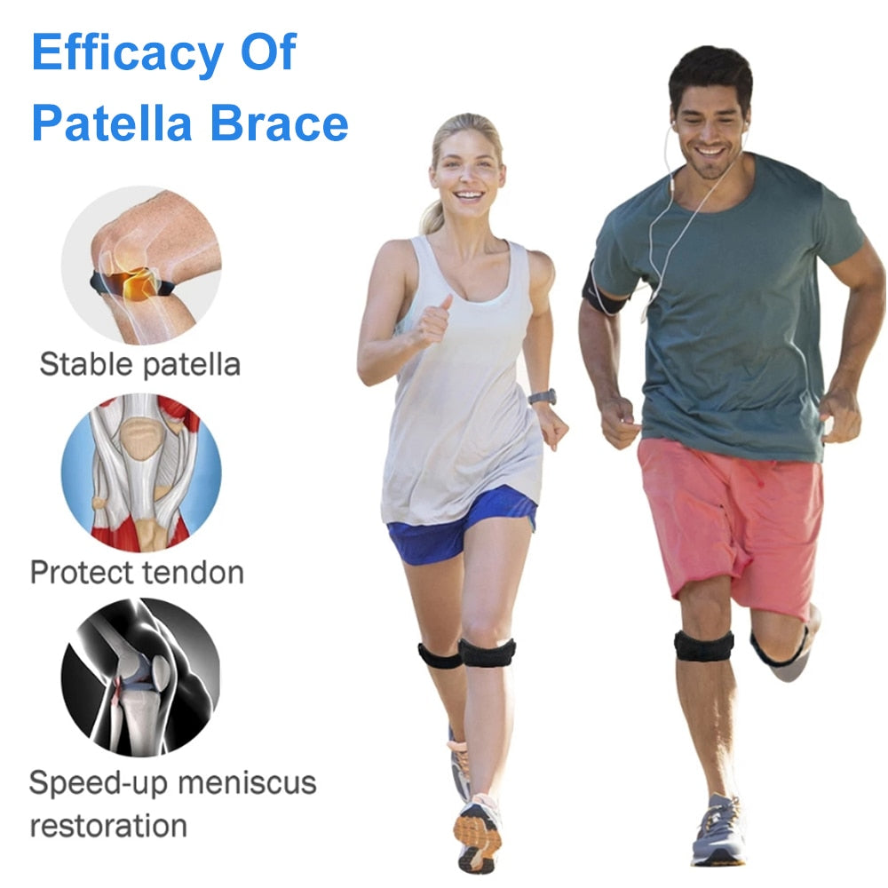 Adjustable Knee Pad Knee Pain Relief Patella Stabilizer Brace Support