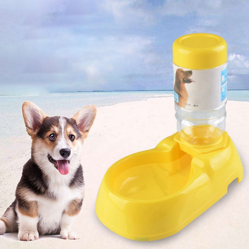Automatic Pet Feeder Large Capacity Water Dispenser For Cat Dog Drinking Bowl