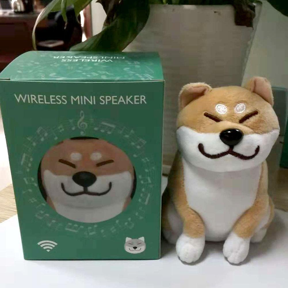 Cute Cartoon Plush Dog Wireless Bluetooth Speaker
