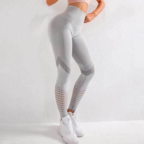 Seamless Yoga Pants Stretchy High Waist Compression Legging