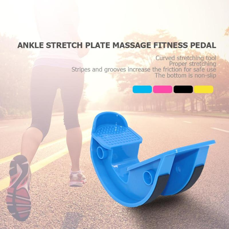 Foot Stretcher Rocker Ankle Stretch Massage Board