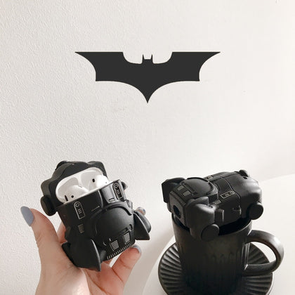 Hero Icon 3D Soft Silicone Batmobile Batman Unique Car Airpods Case