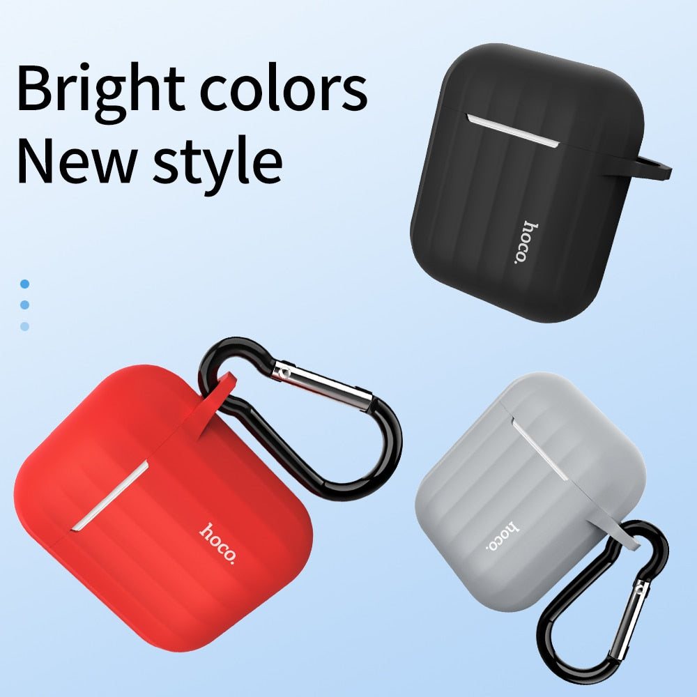 Apple Airpods Soft Silicone Cover Colorful Ultra Thin Protector For Airpod 2
