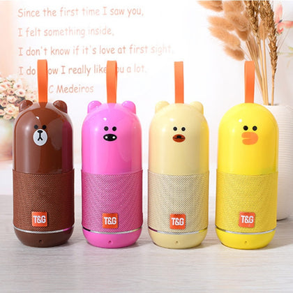 Wireless Bluetooth Cute Children Speaker Cartoon