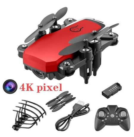 Mini RC Foldable Drone With 4K HD Camera Wifi FPV Selfie Helicopter