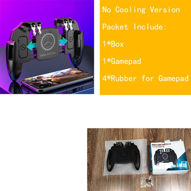 Pubg Joystick Phone Trigger Gamepad For Smartphone Universal Cooling