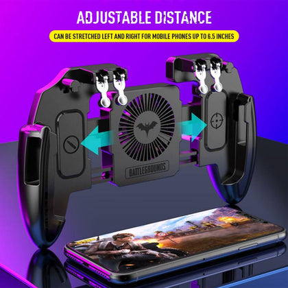 Mobile Controller Game Pubg Joystick Phone Trigger Gamepad For Smartphone Universal Cooling