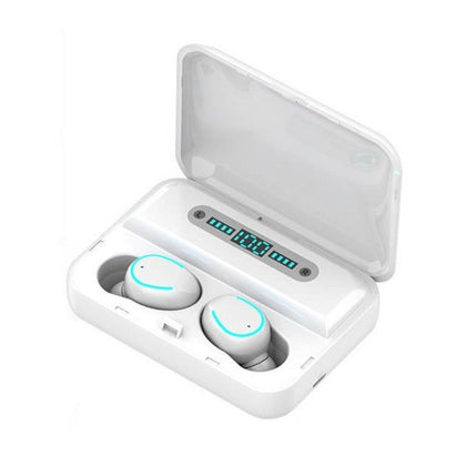 True Wireless Bluetooth Earphone LED Display Breathing Light
