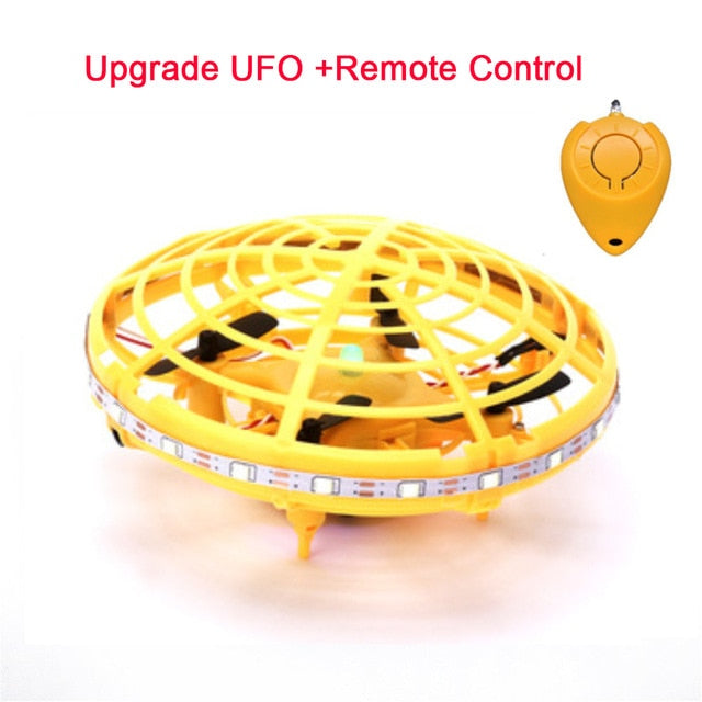 Mini UFO Drone Anti-collision Flying Helicopter Magic Hand UFO Ball Aircraft Sensing