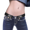 Jeans Women's Punk Style Buckle-free Belt Dress Ladies Slim Sports Trend Comfortable