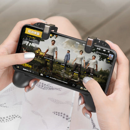 Mobile Controller Game Pubg Joystick Phone Trigger Gamepad Android Smartphone Universal Grip Cooling