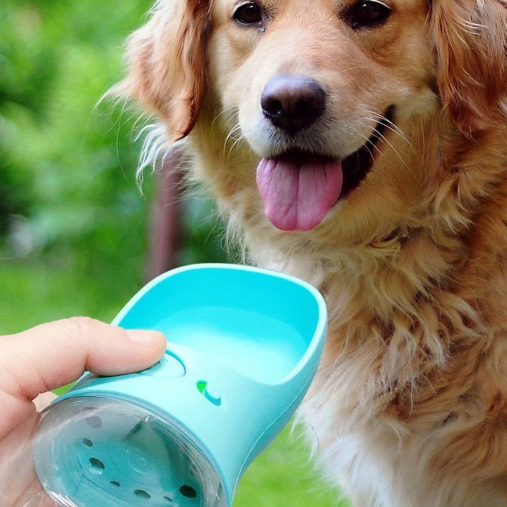 Portable Dog Cat Pet Water Drinking Bottle Travel