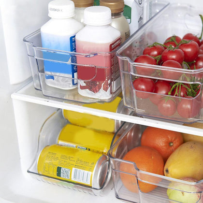 Refrigerator Storage Box Can Be Superimposed Plastic Preservation Box