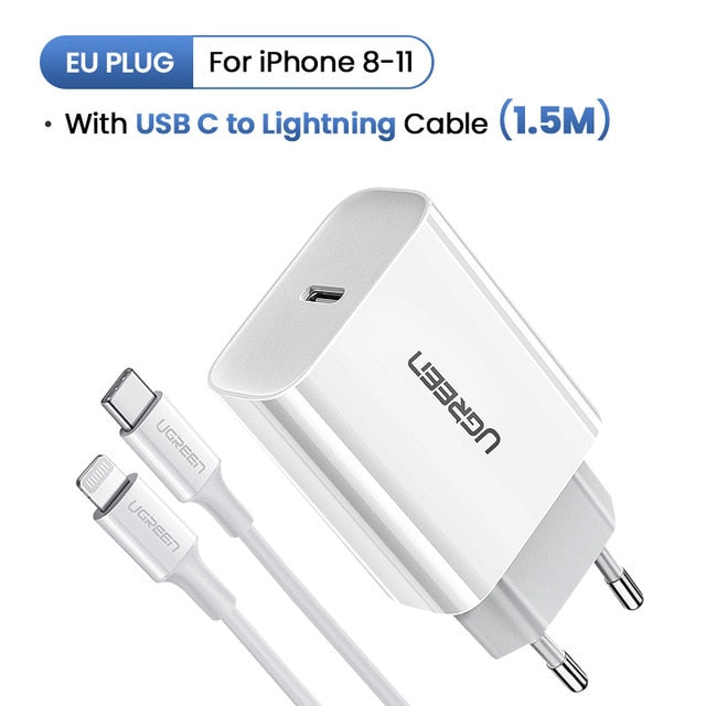 PD Quick Charger 18W USB Type C