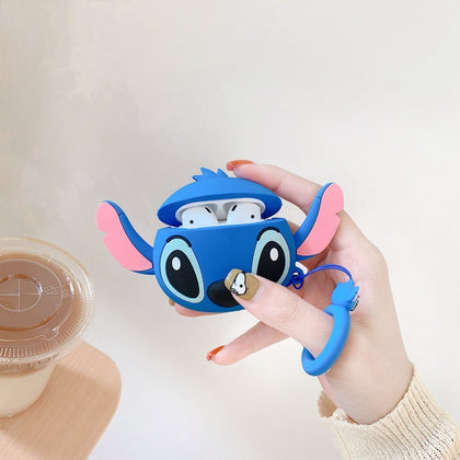 Universal Apple Airpods Case Cute Cartoon Silicone For AirPods 2