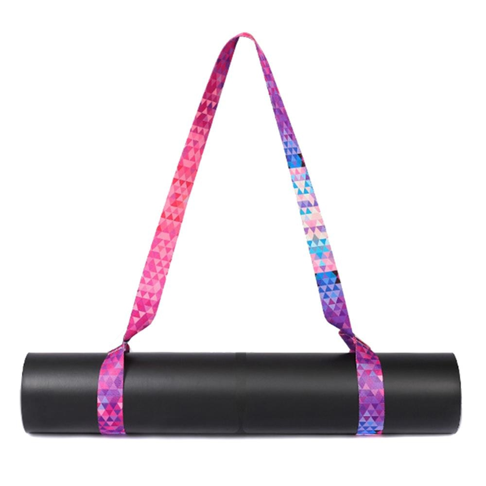Yoga Mat Strap Belt Sports Sling Shoulder Carry Strap Belt Multi-function