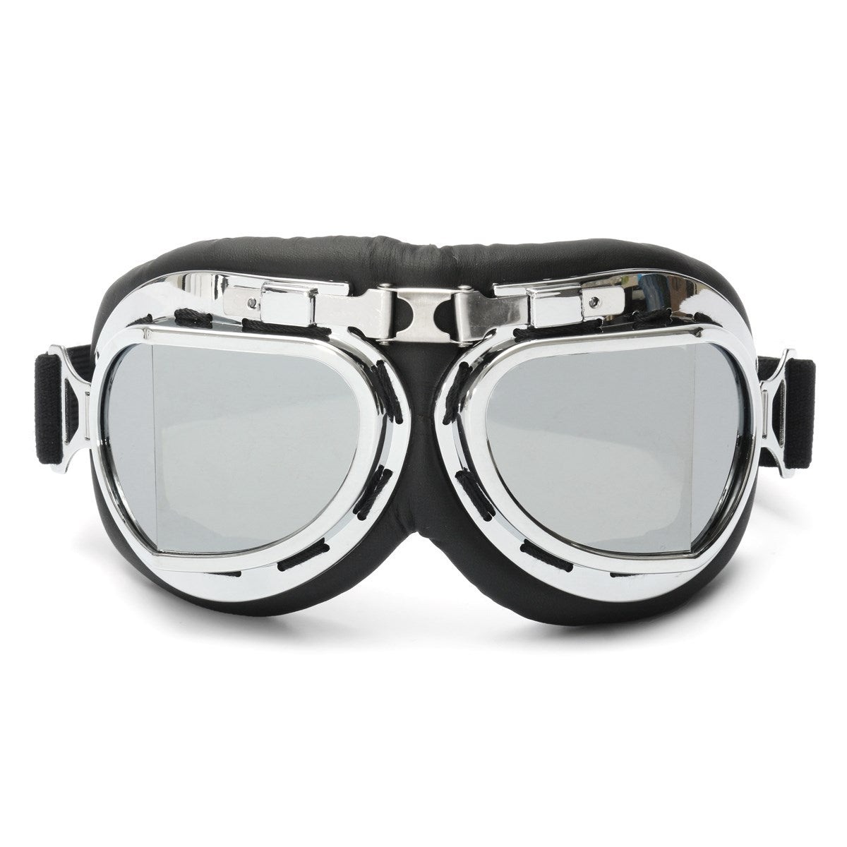 NEW Pilot Motorcycle Sport Ski Clear Goggle Eyewear Scooter Goggle Glasses Safety Protective Goggle