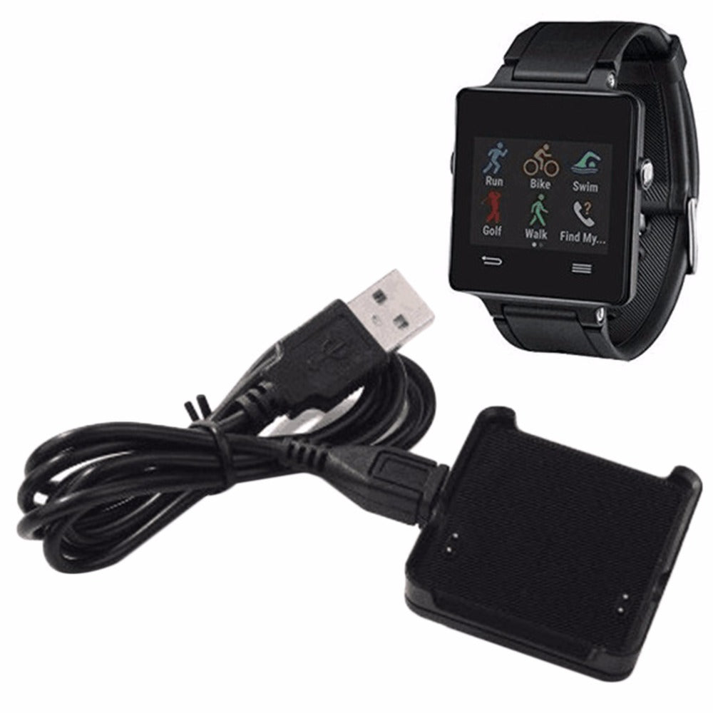 Cradle Charger Charging Dock For Garmin Vivoactive for Smart Watch with USB Cable