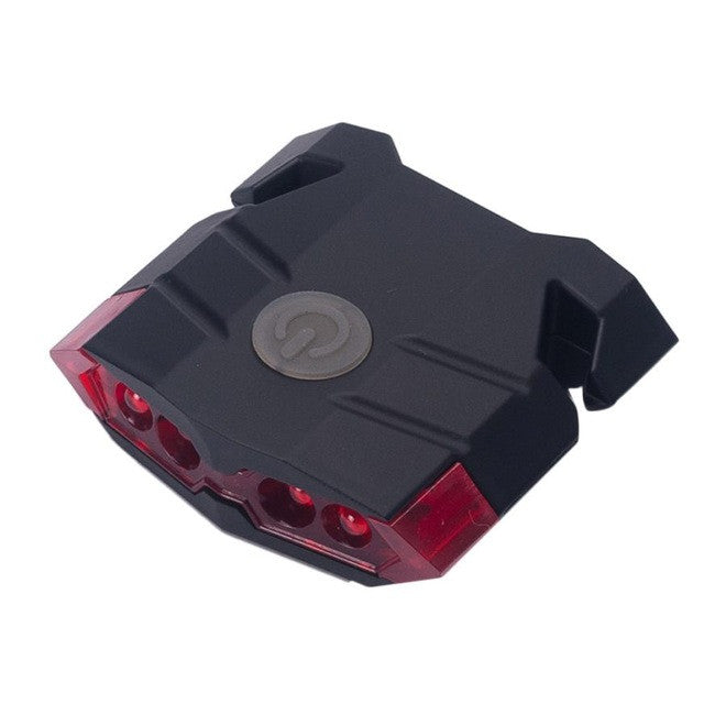 Leadbike A100  USB Charge Bicycle Bike Light Mountain Bike Rear Tail Lamp Riding Caution Warning Light