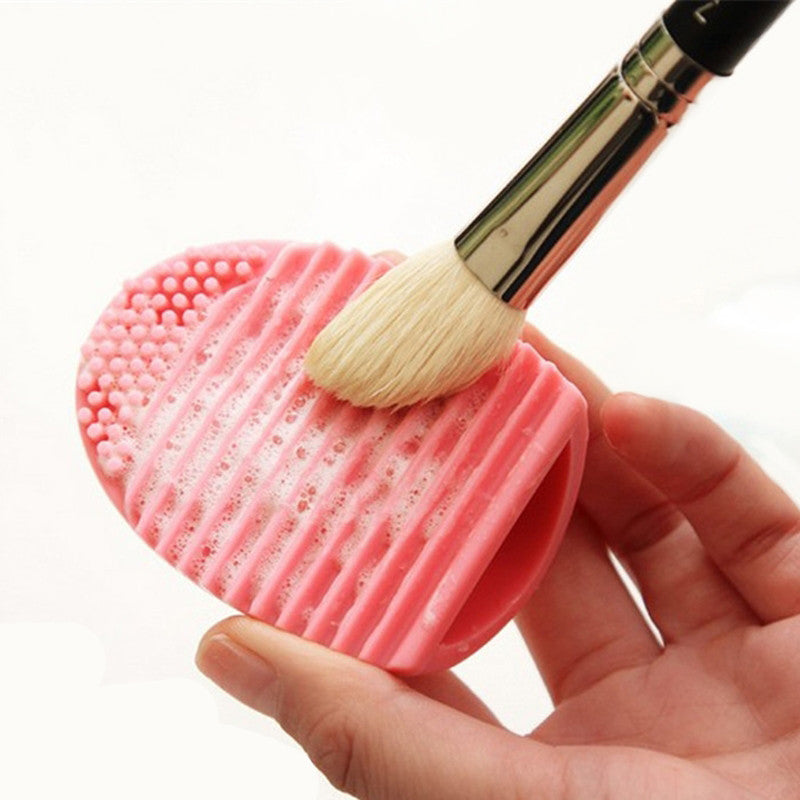 Brushegg Silicone Cosmetic Brush Cleaner Tool 8 Colors