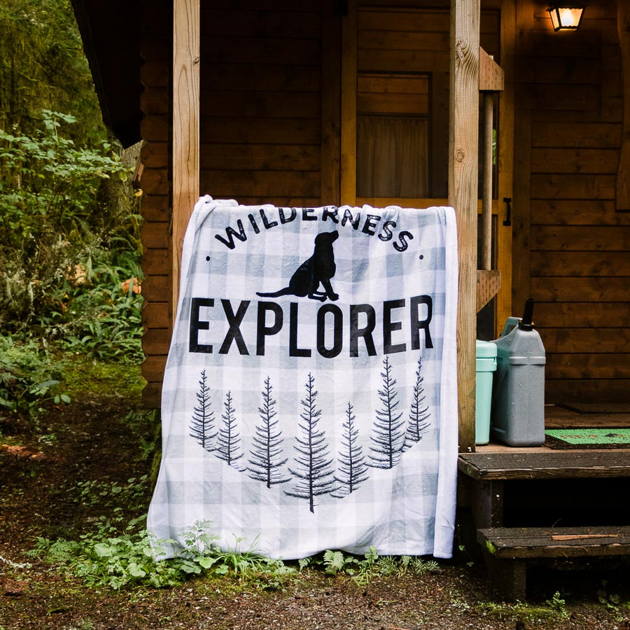 Exclusive Wildnerness Explorer Human Blanket