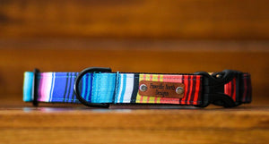 Eco-Friendly Canvas Serape Dog Collar