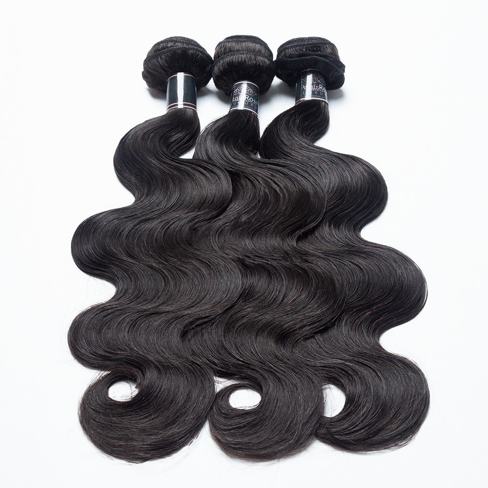 """Brazilian Body Wave"" Hair Bundles"