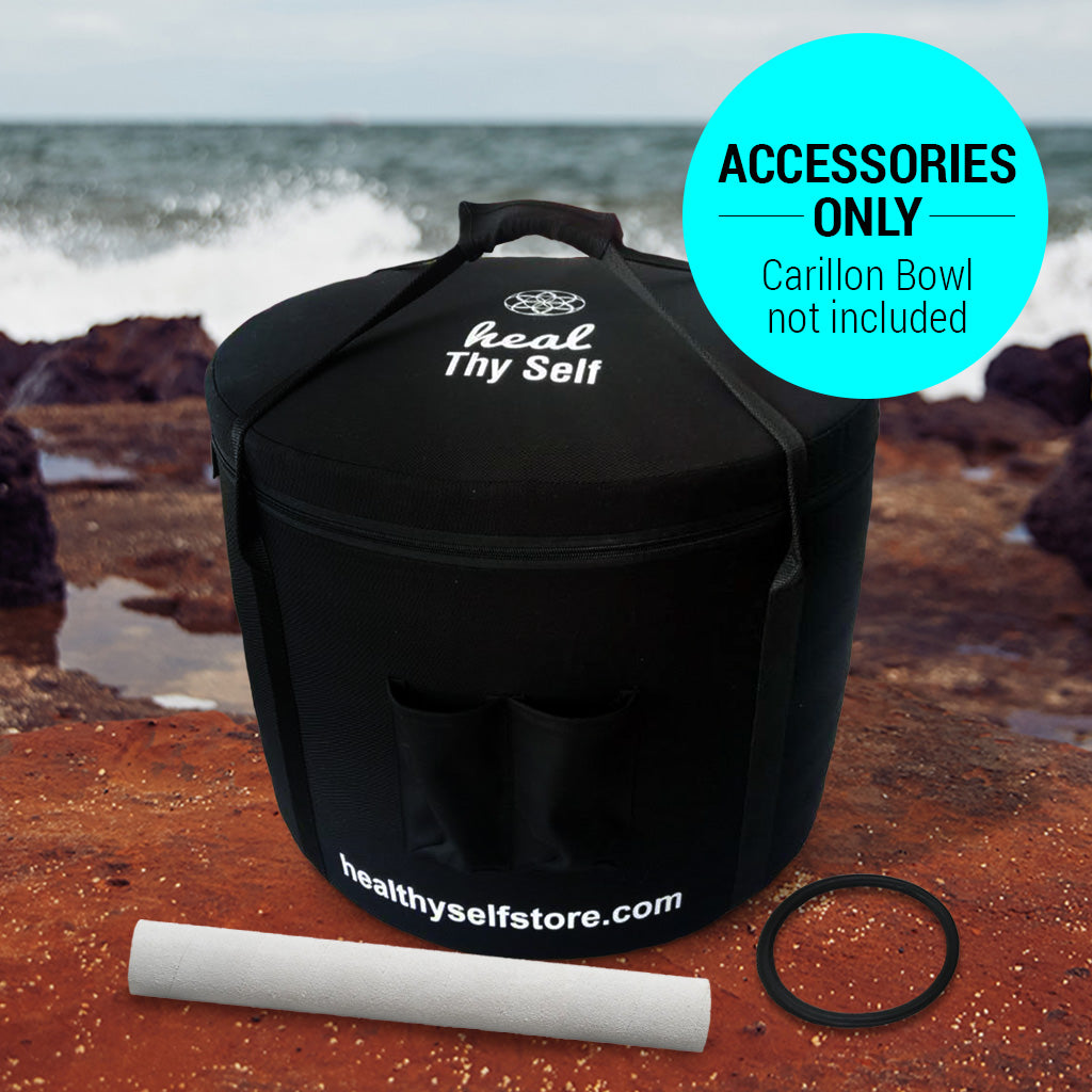 Carillon ACCESSORIES ONLY (includes Bag, O'Ring & Mallet) - Healthyselfstore.com
