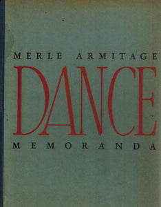 DANCE MEMORANDA - books-new