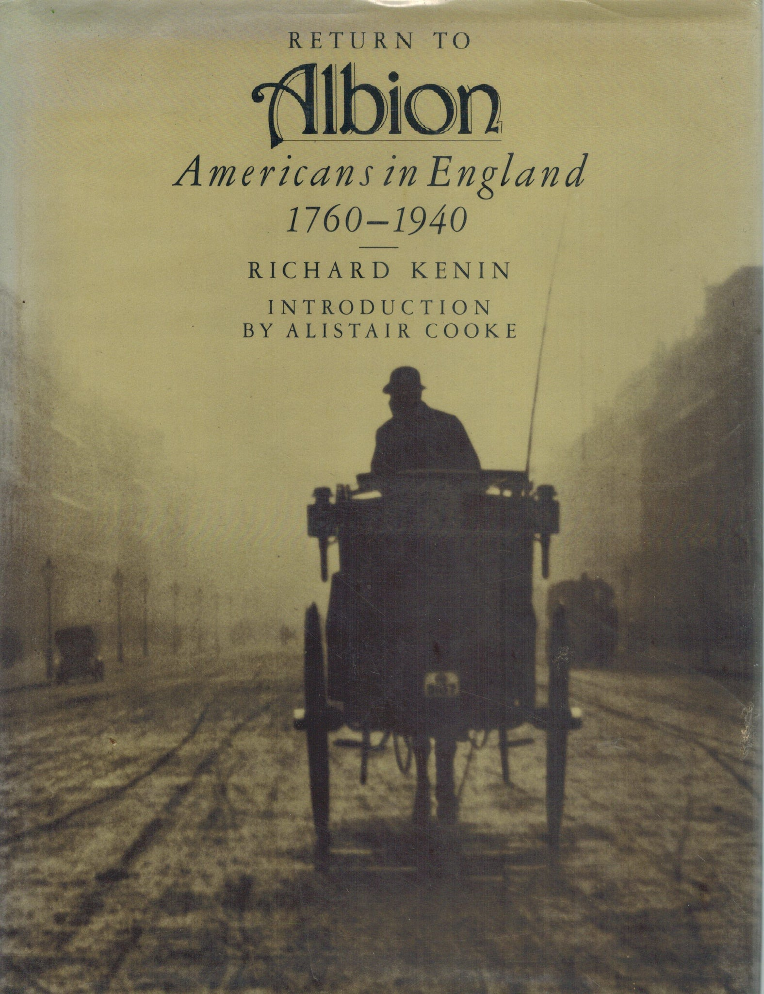 Return to Albion: Americans in England, 1760-1940 - books-new